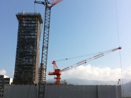 NHK新甲府放送会館建設工事